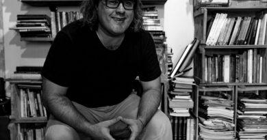 Alessandro Padim peta e jornalista